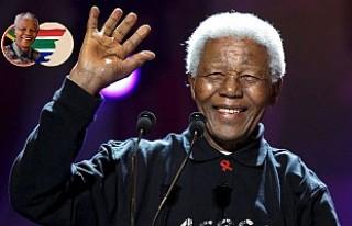 """Güney Afrika'da """"Özgürlüğün lideri""""..."""