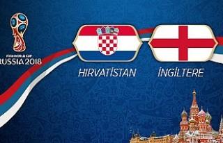 Hırvatistan ile İngiltere Karşılaşacak! İlk...