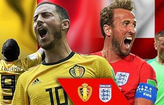 İngiltere'nin Belçika'ya karşı büyük...
