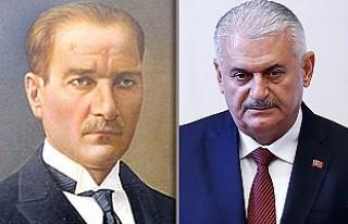Mustafa Kemal Atatürk'ten Binali Yıldırım'a...