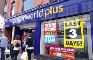 Poundworld İngiltere'deki 190 mağazasını...