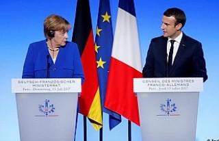 Trump'a karşı Fransa-Almanya dayanışması