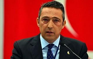 Ali Koç, kendisini tehdit eden taraftarların kombinelerini...