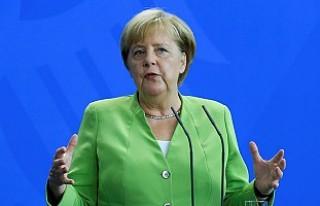 Almanya Başbakanı Angela Merkel'den 'Türkiye'...