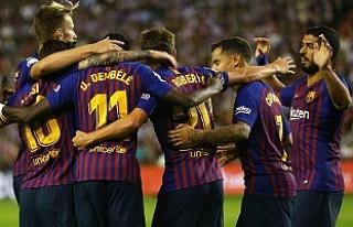 Barcelona tek golle kazandı