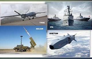 Savunma devleri arasında 4 Türk firması