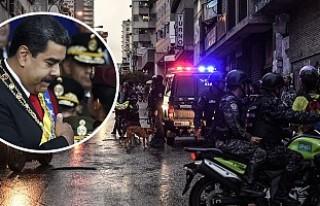 Venezuela Devlet Başkanı Maduro'ya suikast...