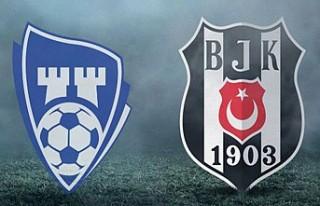 Beşiktaş sahasında SaprsBorg ile karşılaşacak...