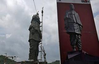Dünyanın en büyük heykeli tamamlanma aşamasına...