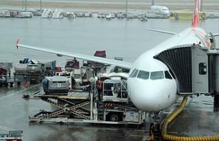 Sağanak Yağmur İstanbul'da Uçuşları Aksattı