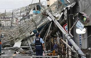 Japonya'da Jebi tayfununda ölü sayısı artıyor
