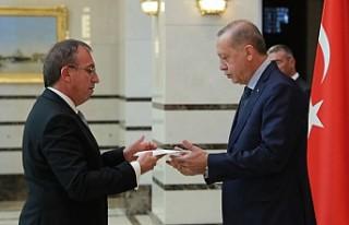 Kemal Köprülü, KKTC'nin Ankara Büyükelçisi...