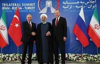 Tahran'da Üçlü 'Suriye' Zirvesi