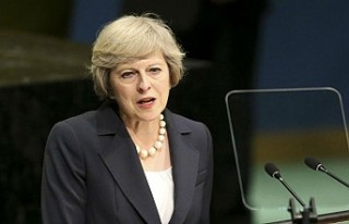 "Theresa May'den ""küresel iş birliği""..."