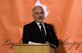 """Türk Kızılayına """"Hayırseverlik Mirası Ödülü""""..."""