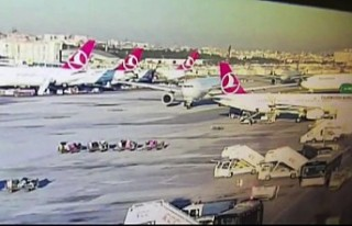 Atatürk Havalimanı'ndaki kazayı TGS personeli...