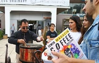 Dev cezvede pişirilen Türk kahvesini bin kişiye...