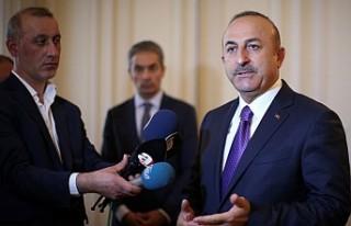 Dışişleri Bakanı Çavuşoğlu'ndan Londra'da...