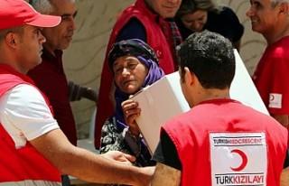 En fazla yardım yapan ülkeler arasında Türkiye...