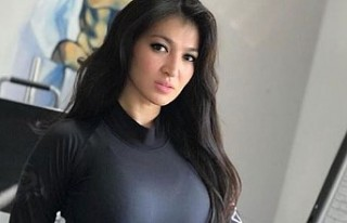 Güzel sporcu Gülcan Nakipova yoğun ilgiden rahatsız