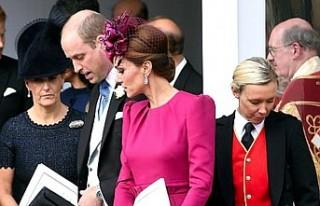 Kraliyet Gelini Kate Middleton, Rüzgarın Azizliğine...