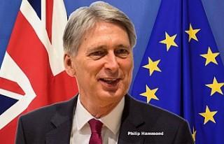 İngiltere Maliye Bakanı Hammond, Brexit için konuştu