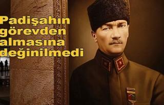 Lise kitaplarında Atatürk'ün Samsun'a...