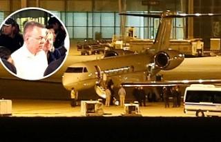 Serbest kalan Rahip Brunson özel uçakla o ülkeye...