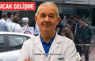 Silahlı saldırıya uğrayan Dr. Fikret Hacıosman...