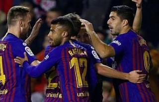 Barcelona son 3 dakikada kazandı