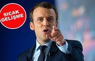 Fransa Cumhurbaşkanı 'Macron'a suikast'...