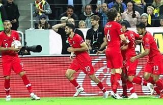 Futbolda C Ligi'ne düşen Türkiye'nin...