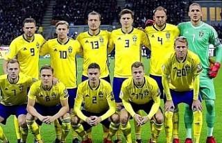 İsveç Milli Takımının Türkiye Maçı Kadrosu...
