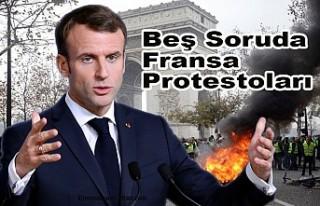 """Macron'un """"elitist"""" politikaları Fransa'yı..."""