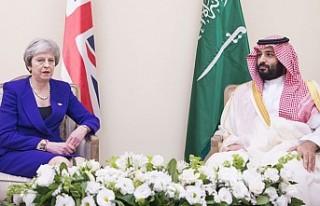 Başbakan May'den Suudi Veliaht Prens'e...