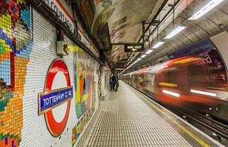 Londra metrosunda makinistlerin maaşı pilot maaşını...
