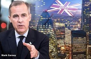 Merkez Bankası'ndan 'No-deal Brexit' uyarısı