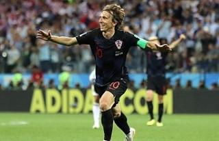 Modric, Ronaldo-Messi hegemonyasını yıktı