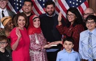 ABD Kongresi'nin ilk Müslüman kadın üyeleri...