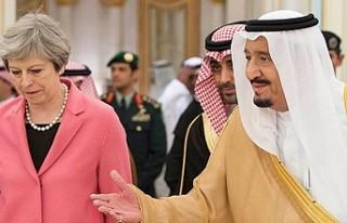 'İngiltere Başbakanı'nın Suudi Arabistan'ı...