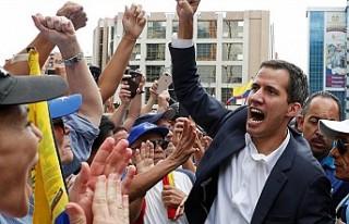 Kendini devlet başkanı ilan eden muhalif: Juan Guaido