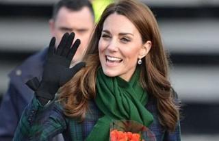 Kate Middleton, Türk markası çantayı tercih etti