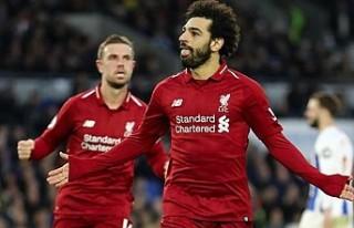 Liverpool Salah ile kazandı