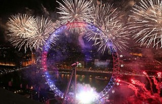 Londra'daki yeni yıl kutlamalarında 'AB'ye...