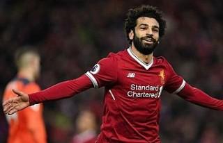 Yılın futbolcusu Muhammed Salah
