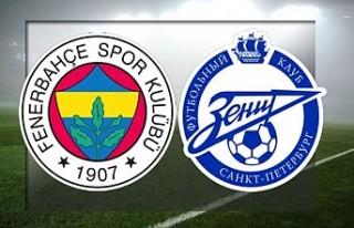 Fenerbahçe, Avrupa Liginde Zenit'i konuk edecek!