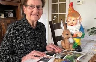 Hollandalı yaşlı kadının çalınan bahçe cücesi...