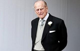 Kraliçe'nin 97 yaşındaki eşi Prens Philip...