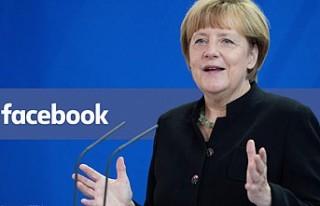 Merkel, Facebook hesabını kapatıyor