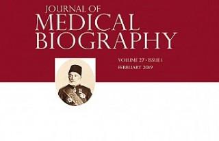 Osmanlı Hekimi, İngiliz Tıp Dergisine Kapak Konusu...